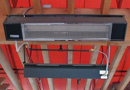 Model S34 Gas 34,000 BTU Patio Heater by Sunpak