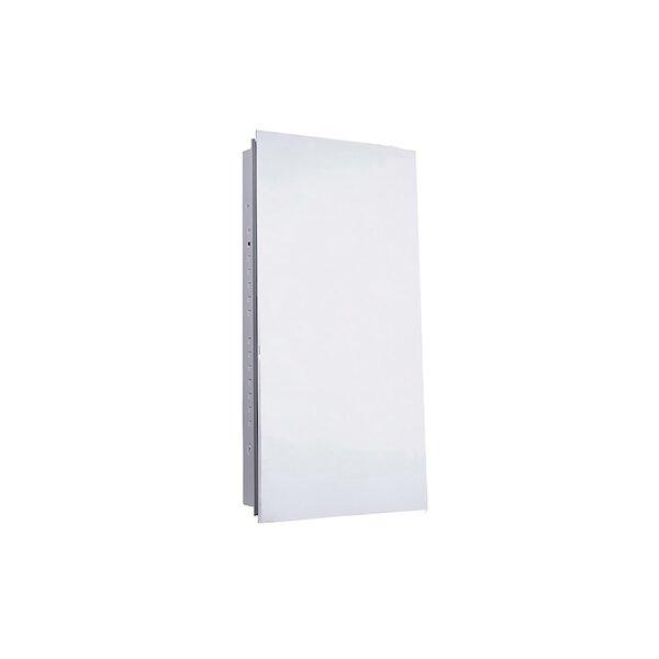 Darrell Recessed 4 Adjustable Shelves Medicine Cabinet