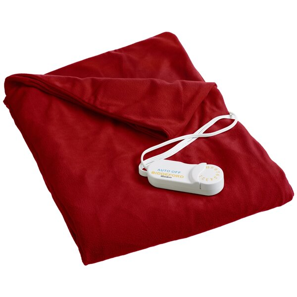Ailey Comfort Knit Heated Polyester Throw by Red Barrel Studio