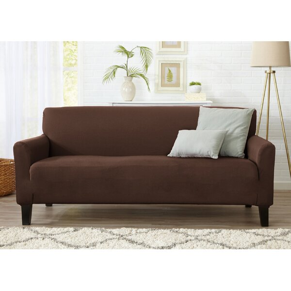 Dawson Box Cushion Sofa Slipcover by Home Fashion Designs