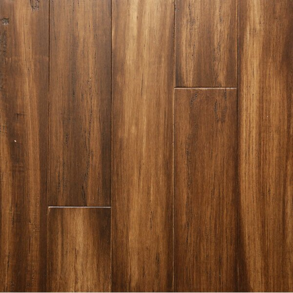 5 Engineered Hickory Hardwood Flooring in Brindle by Islander Flooring