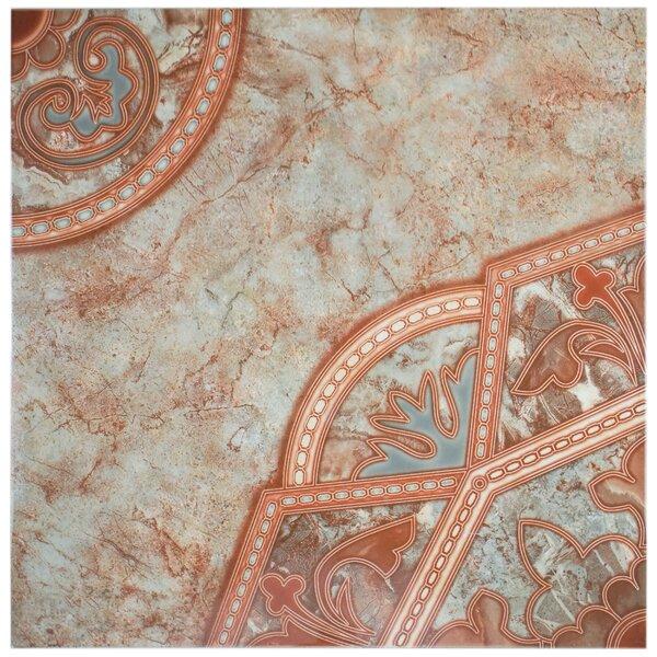 Tanja 19.75 x 19.75 Ceramic Field Tile in Red/Pink by EliteTile