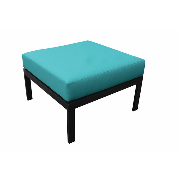 Madison Outdoor Ottoman with Cushion by kathy ireland Homes & Gardens by TK Classics