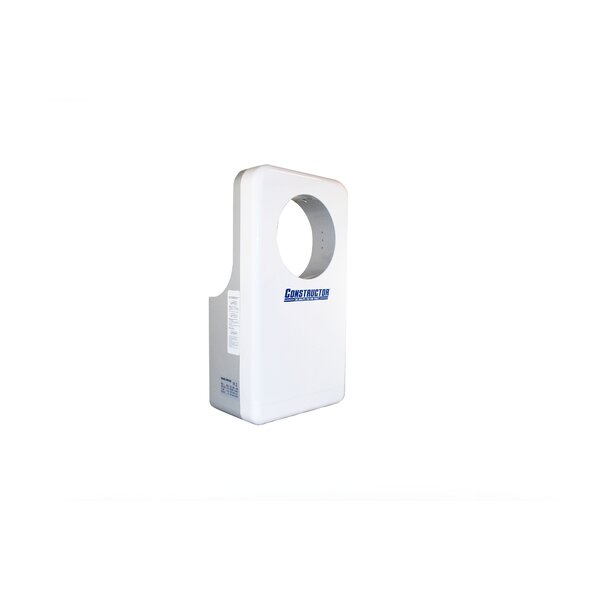 Constructor 110 Volt Hand Dryer in White by DSD Group