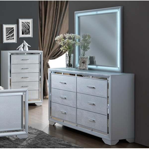 Goebel 6 Drawer Double Dresser by Orren Ellis Orren Ellis