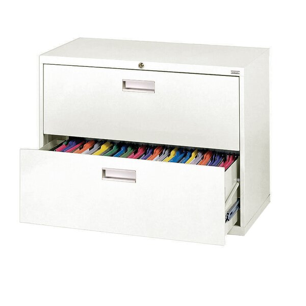 600 Series 2-Drawer  File Cabinet by Sandusky Cabinets600 Series 2-Drawer  File Cabinet by Sandusky Cabinets