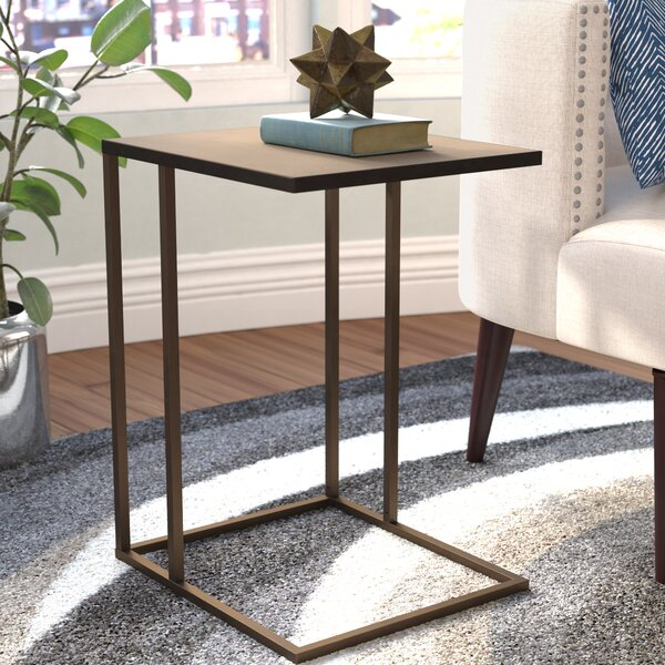 Armbruster End Table by Mercury Row