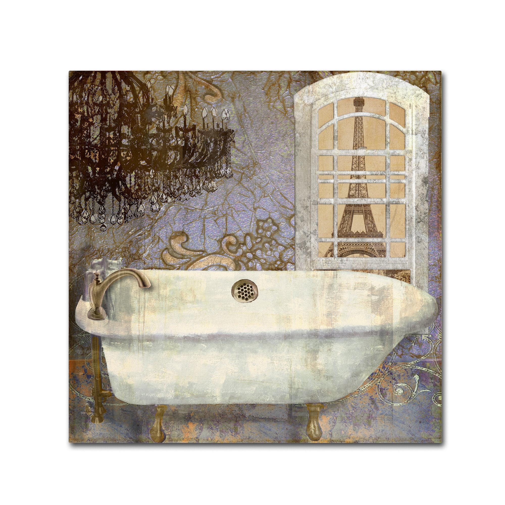 Salle De Bain Idea Group ~ trademark art salle de bain i by color bakery graphic art on