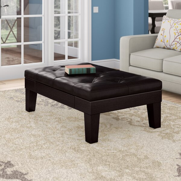 Milton Drawer Tufted Cocktail Ottoman by Darby Home Co