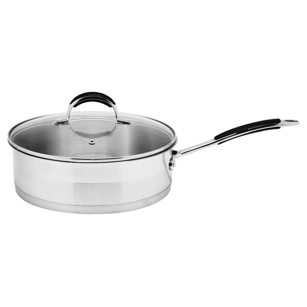 3.5-qt. Saute Pan with Lid by Prime Cook