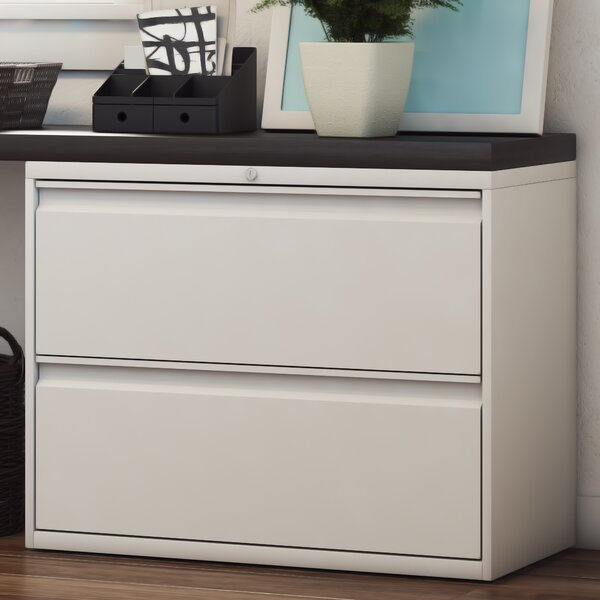 Frasher 2-Drawer Lateral Filing Cabinet by Symple Stuff