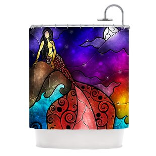 Fairy Tale Little Mermaid Shower Curtain
