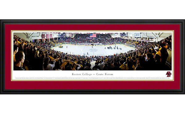 NCAA Hockey Deluxe Framed Photographic Print by Blakeway Worldwide Panoramas, Inc