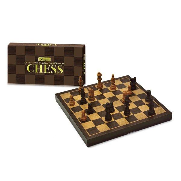 Premier Wooden Chess Set by Intex Entertainment Inc