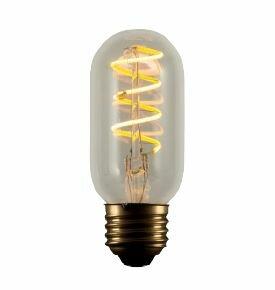4W E26 T14 LED Light Bulb (Set of 2) by Bulbrite Industries