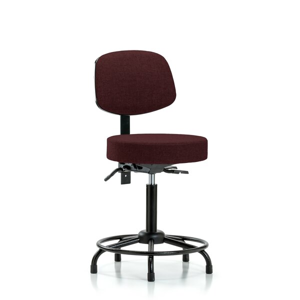 Lilith Round Tube Base Bench Height Adjustable Lab Stool