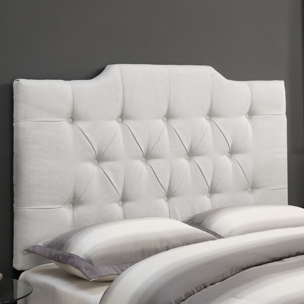 Goldsmith Upholstered Panel Headboard by Three Posts