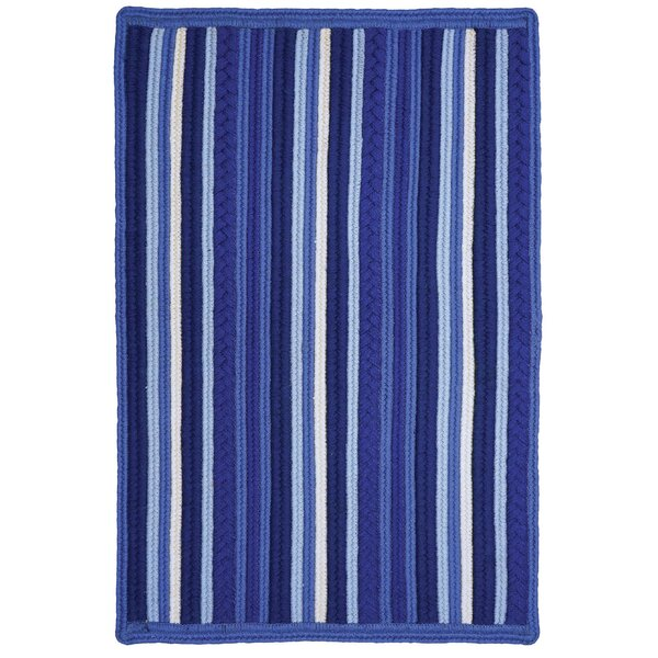 Portsmouth Blue Indoor/Outdoor Area Rug by Homespice Decor