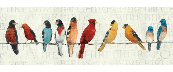 Red Barrel Studio The Usual Suspects Birds On A Wire Wall