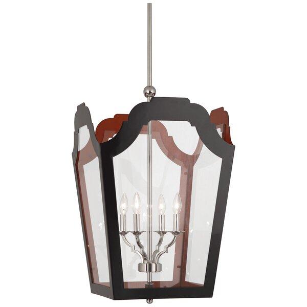 Williamsburg 4 - Light Lantern Square Chandelier by Robert Abbey Robert Abbey