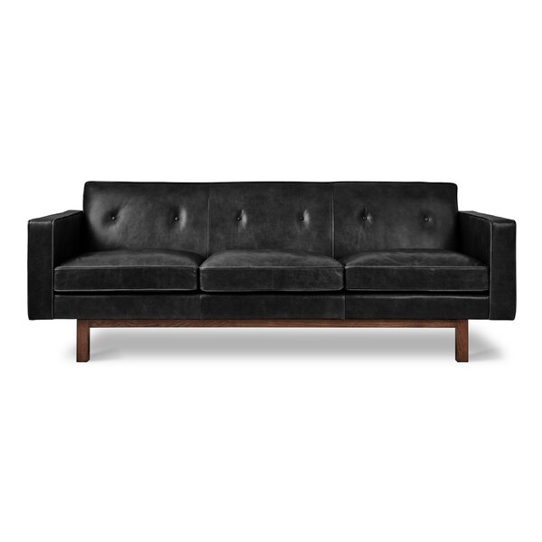 Get Great Embassy Leather Sofa by Gus* Modern by Gus* Modern
