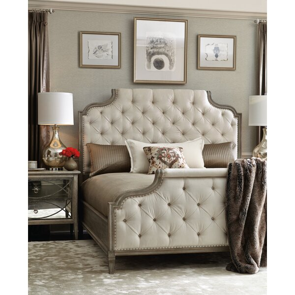 Marquesa Upholstered Standard Bed by Bernhardt
