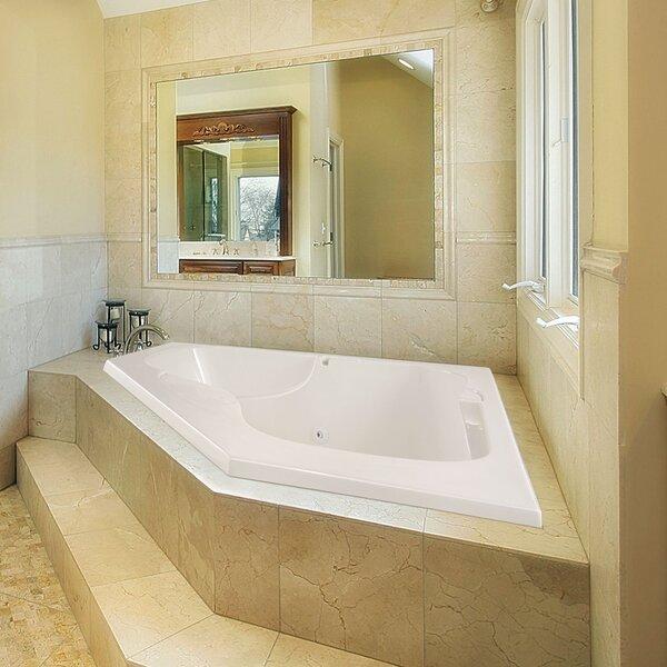Designer Lara 60 x 60 Soaking Bathtub by Hydro Systems