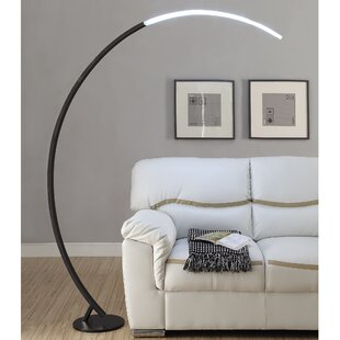 Arched floor lamps youll love wayfair save aloadofball Gallery