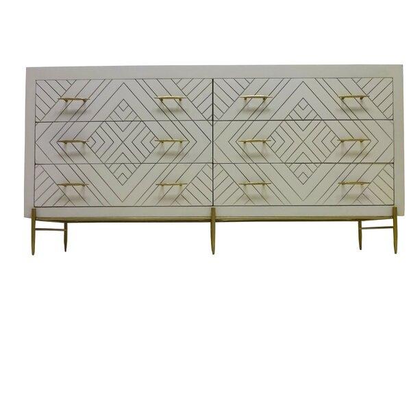 Wilbraham 6 Drawer Double Dresser by Everly Quinn