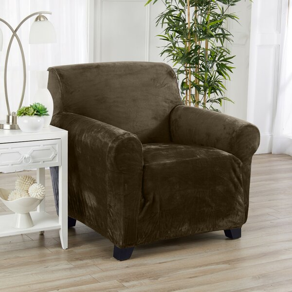 Fit T-Cushion Armchair Slipcover By Ebern Designs