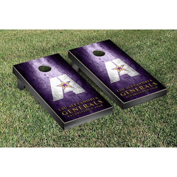 NAIA Metal Version Cornhole Game Set by Victory Tailgate
