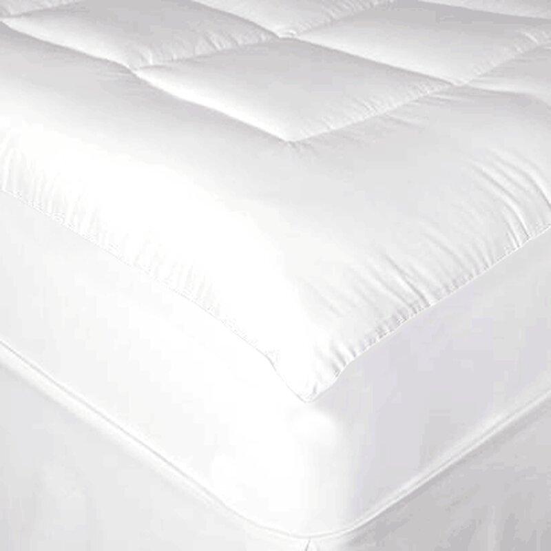 defaultname maison waterproof pillow top mattress pad u0026 reviews