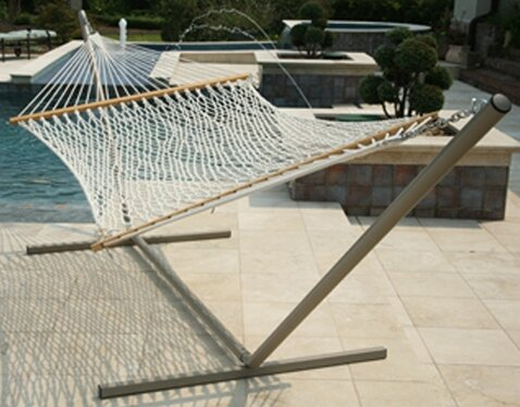 Edmiston Polyester Rope Hammock by Charlton Home
