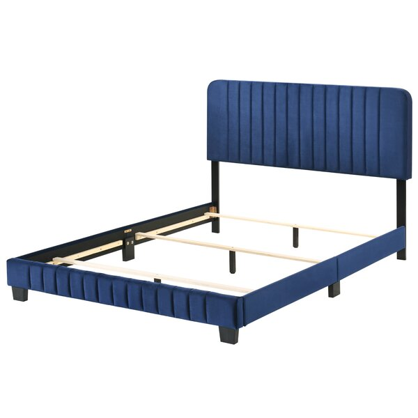 Cushman Upholstered Standard Bed by House of Hampton House of Hampton