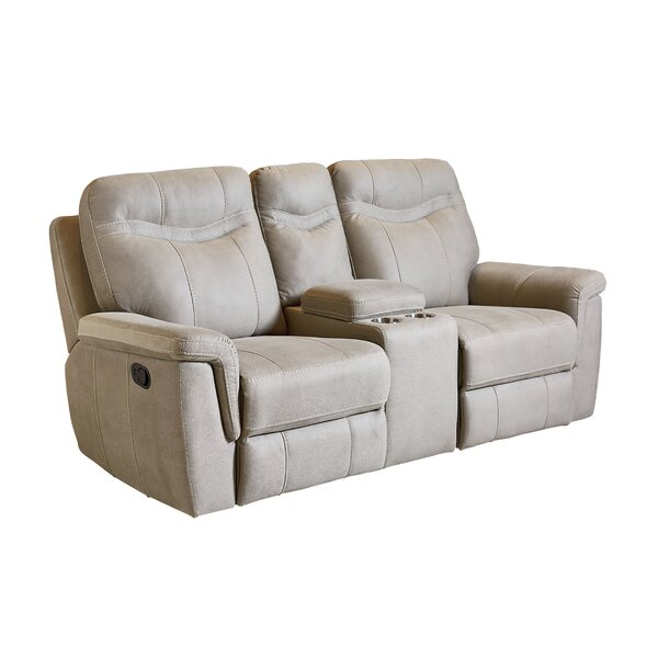 Best #1 Mehar Reclining Loveseat By Orren Ellis Great price