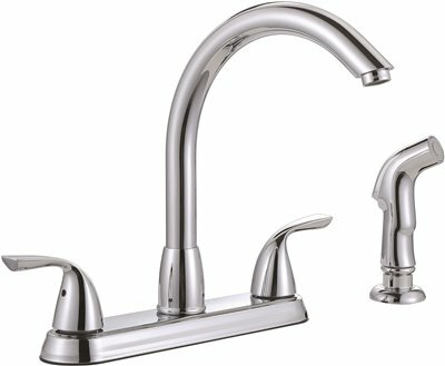 Standard Kitchen Faucet with Side Spray by Premier Faucet