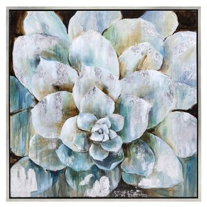 Delighted Flora Framed Painting Print by House of Hampton