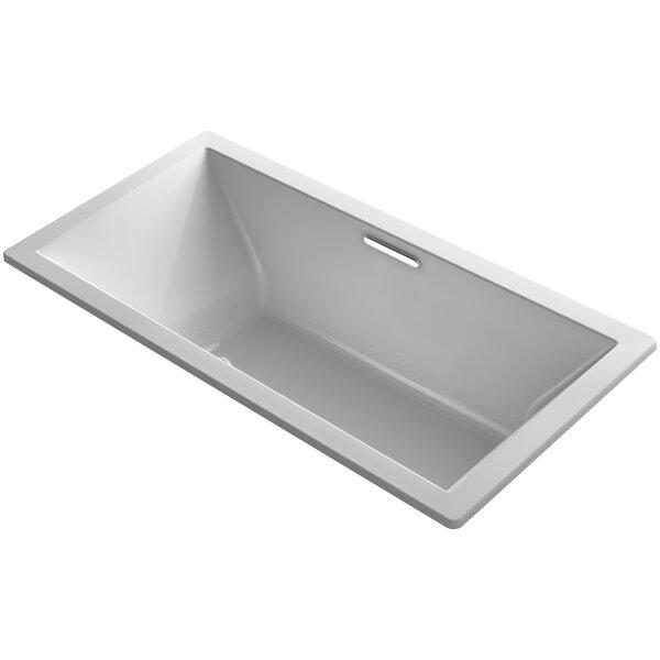 Underscore Drop-In Bubblemassage™ Air Bath with Center Drain by Kohler
