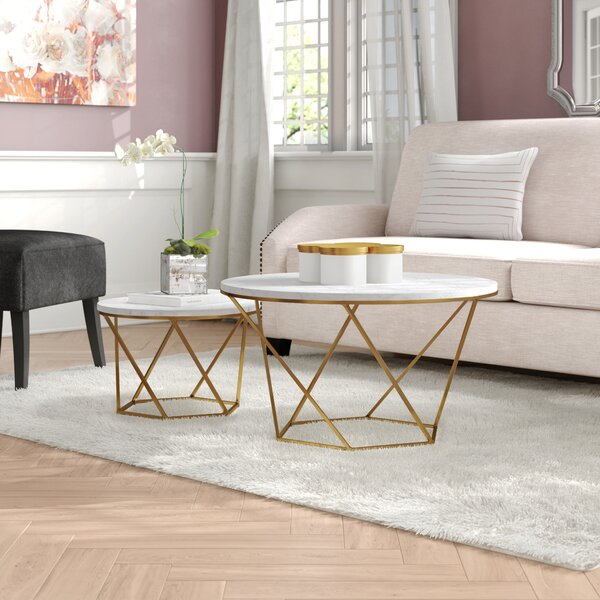 Louisiana Nesting 2 Piece Coffee Table Set By Mercer41