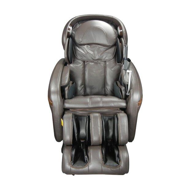 Reclining Adjustable Width Heated Massage Chair By Osaki