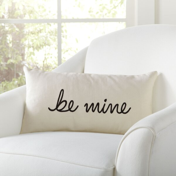 Be Mine Pillow Cover by Birch Lane™
