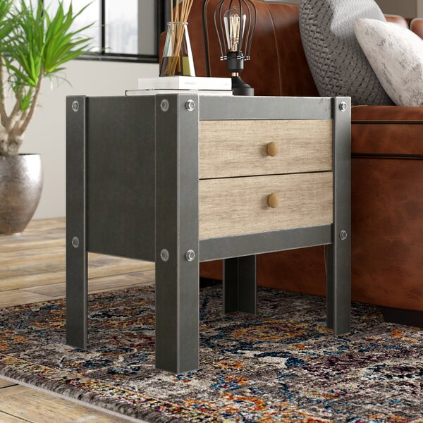 Lossett End Table with Storage by Trent Austin Design