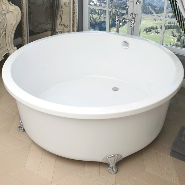Cantor 59.06 x 59.06 Freestanding Soaking Bathtub by ANZZI