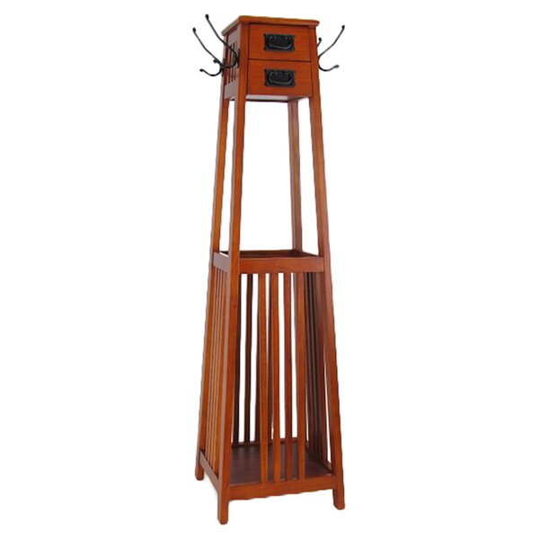 Vertical Squared Legs Coat Stand by Darby Home Co