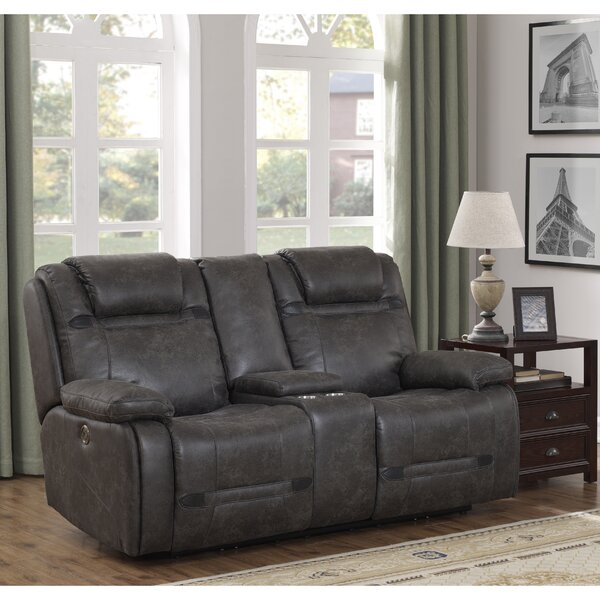 Perfect Shop Slayden Reclining Loveseat by Winston Porter by Winston Porter