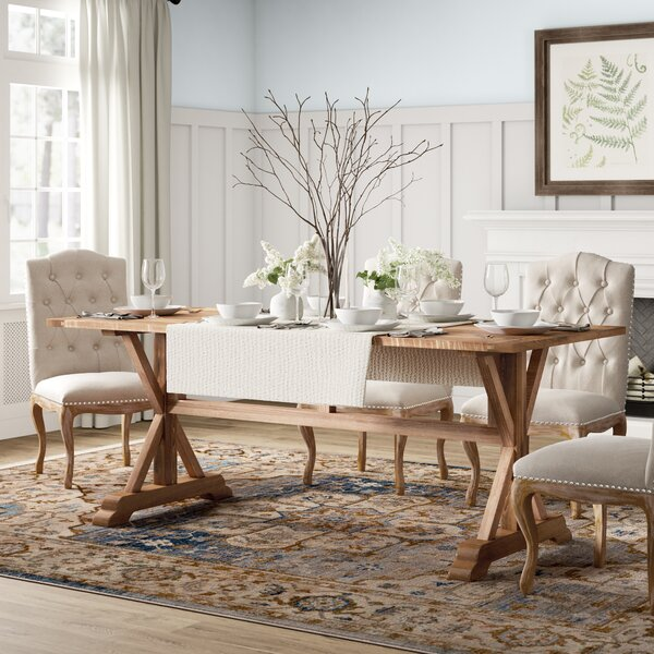 Glenbrook Solid Wood Dining Table by Birch Lane™ Heritage