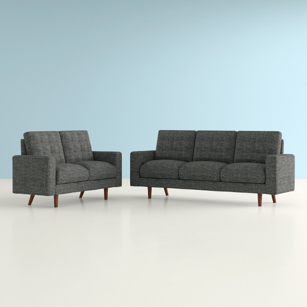 Sanborn 2 Piece Living Room Set by Hashtag Home