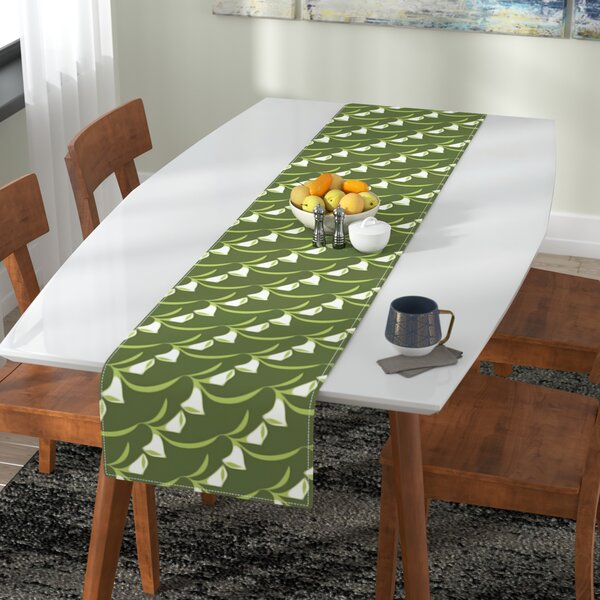 Holly Helgeson Deco Calla Lily Table Runner by East Urban Home