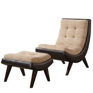 Narvaez Lounge Chair and Ottoman
