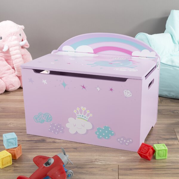 Poe Seat Toy Storage Bench by Harriet Bee